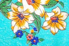 Tekstura, wzór Terry ręcznik Kwiaty Hoodies no są właśnie dla Zdjęcia Royalty Free