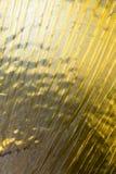 Tekstura złoty jedwab zdjęcie stock