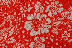 Tekstura z kolorowymi wzorzystymi tkaninami Obraz Stock