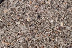 Tekstura z małą otoczak skałą Zdjęcia Royalty Free