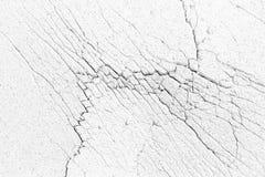 Tekstura z narysami biała łamająca ściana Zdjęcie Stock