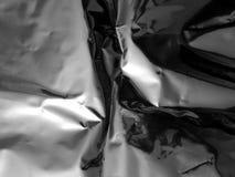 Tekstura zamknięta chrom matrycujący metal up zdjęcia stock