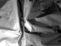 Tekstura zamknięta chrom matrycujący metal up fotografia stock