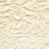 tekstura zdruzgotany papierowy biel obrazy stock