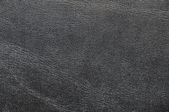 Tekstura zwarta czarna skóra Rocznik Klasyczny czarny kolor obraz stock