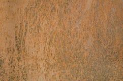 Tekstury żelazny ośniedziały Zdjęcia Stock
