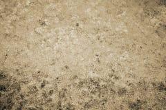 Tekstury abstrakcja woda i algi przy dnem drenujący staw tonowanie obrazy stock