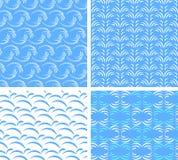 tekstury abstrakcjonistyczna bezszwowa woda Zdjęcia Royalty Free