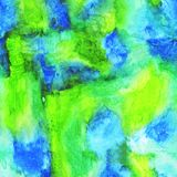 Tekstury akwarela bryzga i plamy dla tła ilustracja wektor