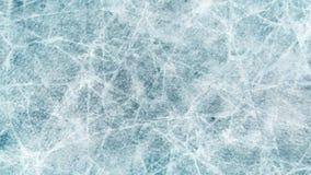 Tekstury błękita lód Lodowy lodowisko tło płatków śniegu biały niebieska zima Zasięrzutny widok ilustracyjny natura zdjęcia royalty free