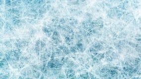 Tekstury błękita lód Lodowy lodowisko tło płatków śniegu biały niebieska zima Zasięrzutny widok ilustracyjny natura obraz stock