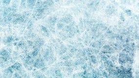 Tekstury błękita lód Lodowy lodowisko tło płatków śniegu biały niebieska zima Zasięrzutny widok ilustracyjny natura obrazy stock