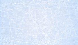 Tekstury błękita lód Lodowy lodowisko tło płatków śniegu biały niebieska zima Zasięrzutny widok Wektorowy ilustracyjny natury tło Zdjęcia Stock