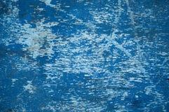 Tekstury błękitny Stary drewno Zdjęcia Royalty Free