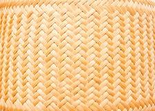 tekstury bambusowy weave Obraz Royalty Free