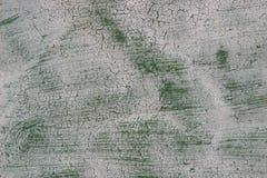 Tekstury barwiony tło stara ośniedziała zielona metal powierzchnia Obraz Royalty Free