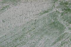 Tekstury barwiony tło stara ośniedziała zielona metal powierzchnia Obraz Stock