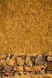 Tekstury Berber ścienny dom w Maroko Obraz Royalty Free