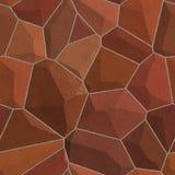 tekstury bezszwowa kamienna ściana Zdjęcie Stock