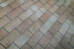 Tekstury brwi dach Obraz Stock