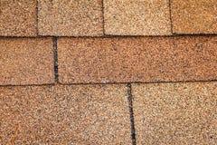 Tekstury brwi dach Zdjęcia Stock