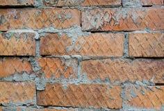 Tekstury cegły ścienny fornir Obrazy Royalty Free