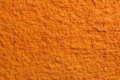 tekstury ceglana pomarańczowa ściana Zdjęcie Stock
