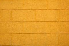 tekstury ceglany kolor żółty Obrazy Royalty Free