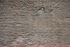 tekstury cementowa stara szorstka ściana Zdjęcie Royalty Free