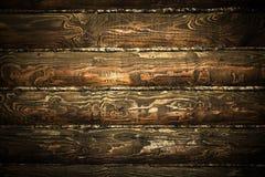 tekstury ciemny drewno Zdjęcie Royalty Free