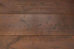 Tekstury ciemny parkietowy jako abstrakcjonistyczny tekstury tło, odgórny widok Materialny drewno, dąb, klon Zdjęcia Stock