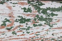 Tekstury drewna podławe stare zielone deski Zdjęcie Stock