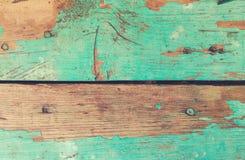 Tekstury farby stary turkusowy rusti Fotografia Stock