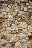 tekstury kamienna ściana Obrazy Royalty Free