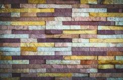 Tekstury Kamienna ściana dla tła Obrazy Stock