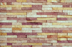 Tekstury Kamienna ściana dla tła Zdjęcia Stock