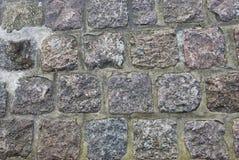 tekstury kamienna ściana Zdjęcia Royalty Free