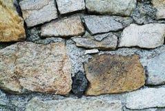 tekstury kamienna ściana Fotografia Royalty Free