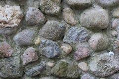 Tekstury kamienna ściana od wielkich kamieni, Obraz Royalty Free