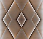 Tekstury kanapy ochraniacza materac brown rzemienny antyk Obrazy Royalty Free