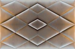 Tekstury kanapy ochraniacza materac brown rzemienny antyk Obraz Royalty Free