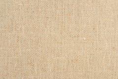Tekstury kanwy tkanina Zdjęcie Royalty Free