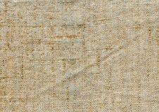 Tekstury kanwy tkanina Obrazy Stock