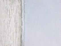 Tekstury kanwy tkanina Fotografia Royalty Free