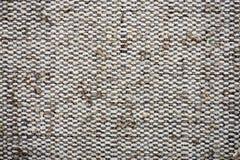 Tekstury kanwy tkanina Obrazy Royalty Free