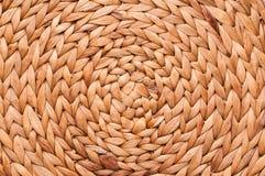 tekstury koszykowy wicker Fotografia Stock
