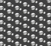 Tekstury Śliczna czaszka Obraz Stock