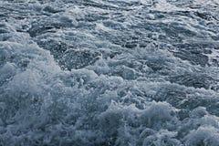 Tekstury morza popielate fala Obraz Royalty Free