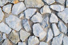 Tekstury ostrza wielcy szarzy kamienie verdure pozyskiwania środowisk gentile Obraz Royalty Free