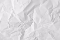 Tekstury prześcieradło zmięty papier fotografia stock